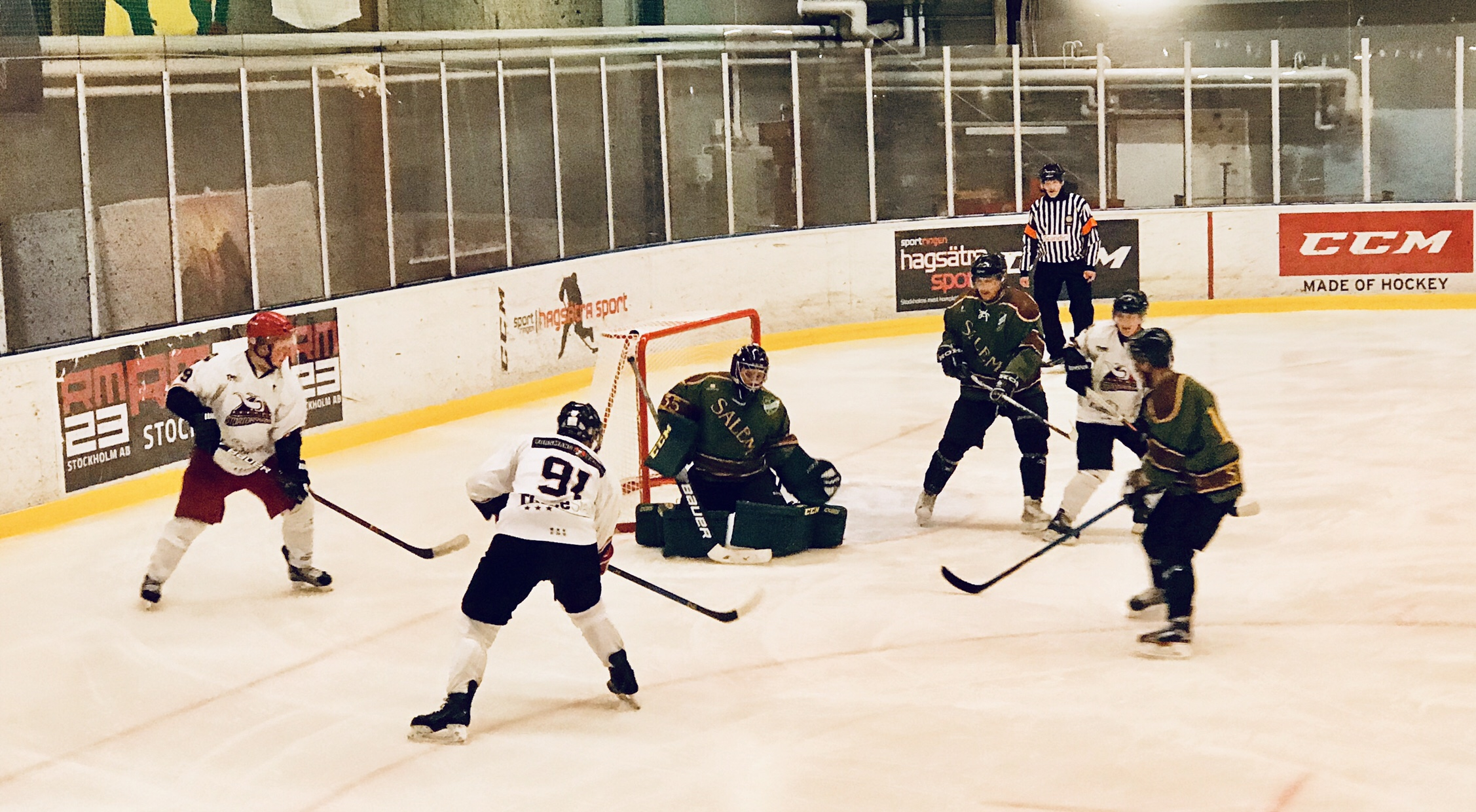 Mb hockey missade direktplatsen